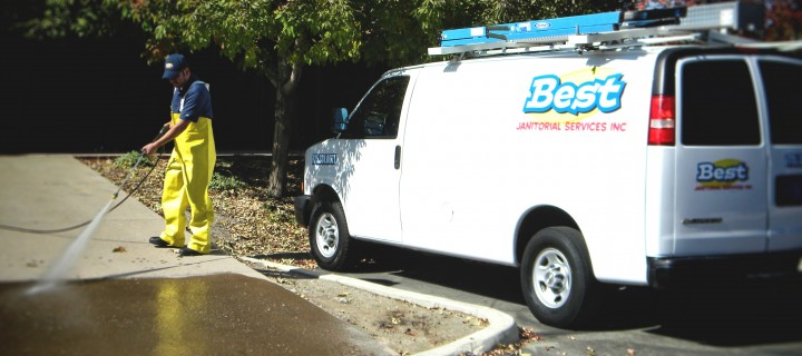 Best Janitorial Driveway Pressure Washing